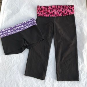Victoria's Secret yoga workout bottoms size Medium